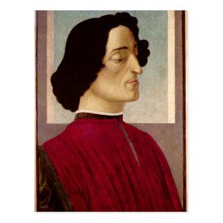 Carte Postale Portrait de Medici c.1480 de Giuliano