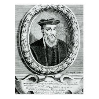 Carte Postale Portrait de Michel de Nostredame