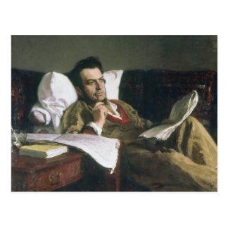 Carte Postale Portrait de Mikhail Glinka