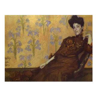 Carte Postale Portrait de Mikhail Vrubel- de N. Zabela