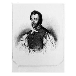 Carte Postale Portrait de monsieur Francis Drake