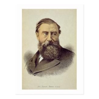 Carte Postale Portrait de monsieur Samuel Baker (1821-93)