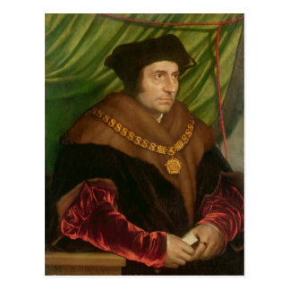 Carte Postale Portrait de monsieur Thomas More