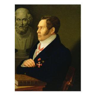 Carte Postale Portrait de Nikolay Gnedich, 1839