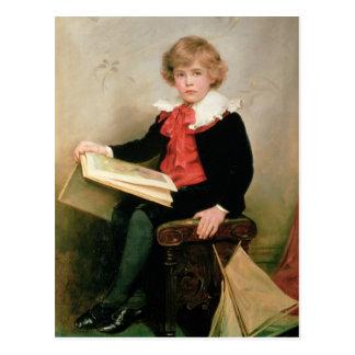 Carte Postale Portrait de Normand Stewart Davies