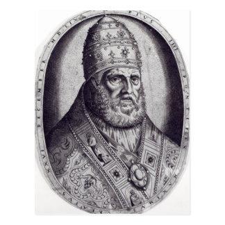 Carte Postale Portrait de pape Pius IV, 1559