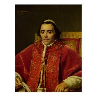 Carte Postale Portrait de pape Pius VII, 1805