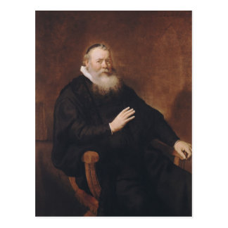 Carte Postale Portrait de pasteur Eleazer Swalmius, 1637-42