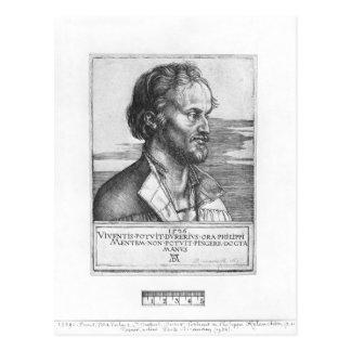 Carte Postale Portrait de Philipp Melanchthon, 1526