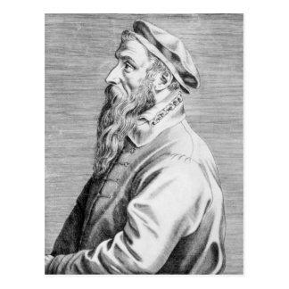 Carte Postale Portrait de Pieter Brueghel l'aîné