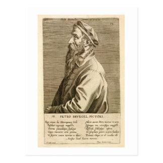 Carte Postale Portrait de Pieter Brueghel l'aîné (c.1527/8-69