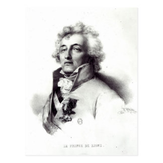 Carte Postale Portrait de prince de Charles-Joseph de maréchal
