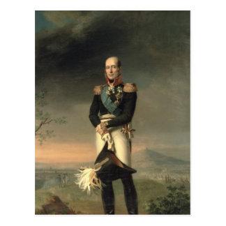 Carte Postale Portrait de prince Mikhail Barclay de Tolly