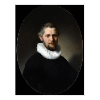 Carte Postale Portrait de Rembrandt d'un homme