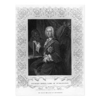 Carte Postale Portrait de Richard Boyle, comte de Burlington