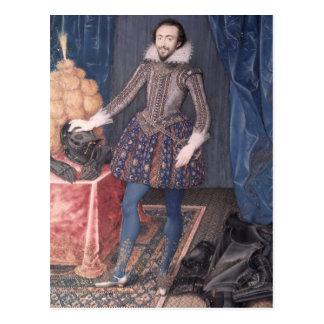 Carte Postale Portrait de Richard Sackville, 3ème comte de