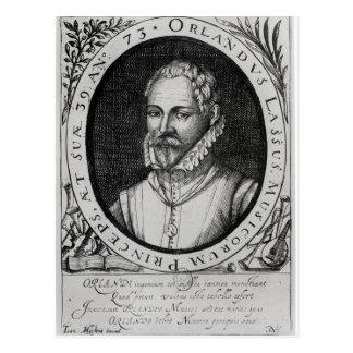 Carte Postale Portrait de Roland de Lassus