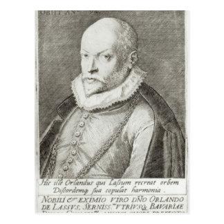 Carte Postale Portrait de Roland de Lassus 1593-94