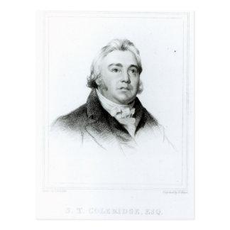 Carte Postale Portrait de Samuel Taylor Coleridge