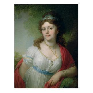 Carte Postale Portrait d'E. Temkina, 1798