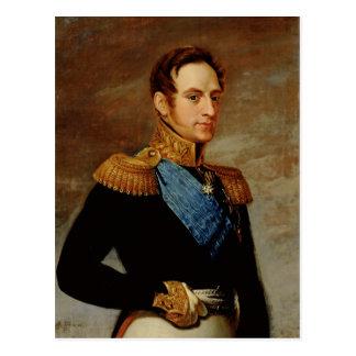 Carte Postale Portrait de tsar Nicholas I 1826