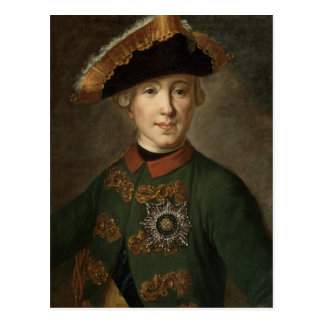 Carte Postale Portrait de tsar Peter III