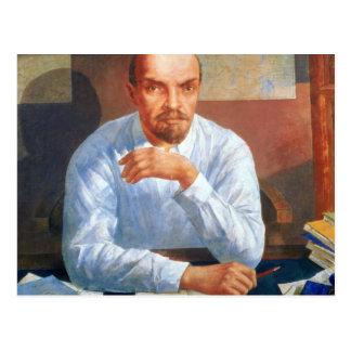 Carte Postale Portrait de Vladimir Ilyich Lénine, 1934