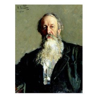Carte Postale Portrait de Vladimir Stasov, 1883