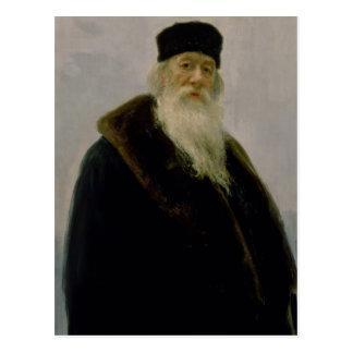 Carte Postale Portrait de Vladimir Vasil'evich Stasov 1900