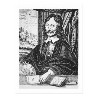 Carte Postale Portrait de William Lilly (1602-81), de son 'Chr