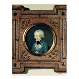 Carte Postale Portrait de Wolfgang Amadeus Mozart, 1773