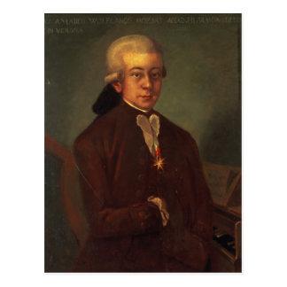 Carte Postale Portrait de Wolfgang Amadeus Mozart 2