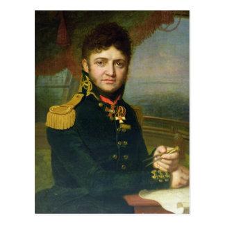 Carte Postale Portrait de Yuri F. Lisyansky, 1810