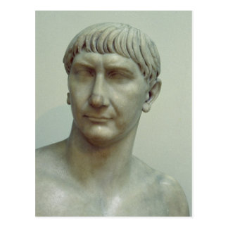 Carte Postale Portrait d'empereur Trajan