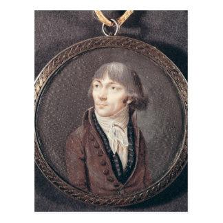 Carte Postale Portrait des d'Herbois de Jean-Marie Collot