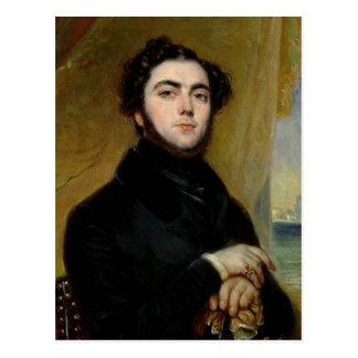 Carte Postale Portrait d'Eugene Sue 1837