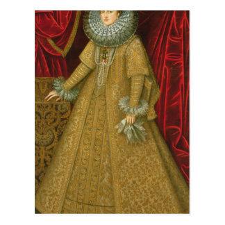 Carte Postale Portrait d'Eugenia de la Reine Isabel Clara