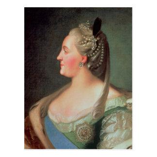 Carte Postale Portrait d'impératrice Catherine II le grand