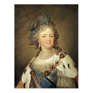 Carte Postale Portrait d'impératrice Maria Fyodorovna