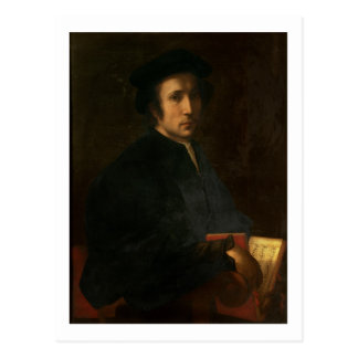 Carte Postale Portrait du dell'Ajolle de Francesco de musicien,