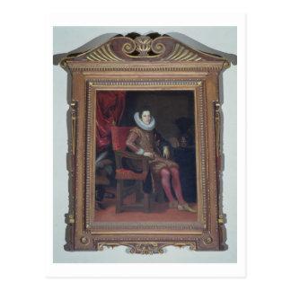 Carte Postale Portrait du de'Medici de Cosimo II (1590-1621)