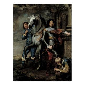 Carte Postale Portrait du Général Ottavio Piccolomini