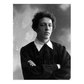 Carte Postale Portrait du poète Alexandre Blok
