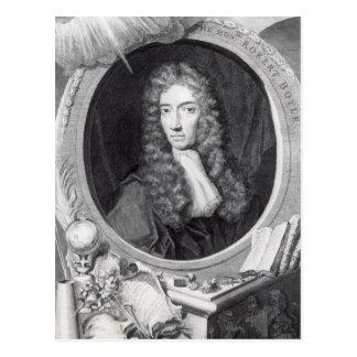 Carte Postale Portrait du Robert honorable Boyle