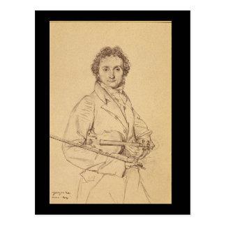 Carte Postale Portrait du Violoniste_Studies des maîtres
