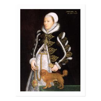 Carte Postale Portrait d'une femme, probablement Catherine