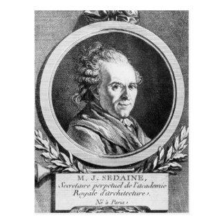 Carte Postale Portrait en Michel-Jean Sedaine