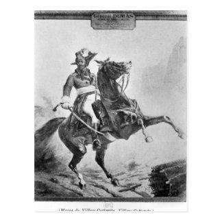 Carte Postale Portrait équestre de Thomas Alexandre