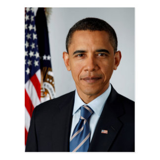 Carte Postale Portrait officiel du Président Barack Obama