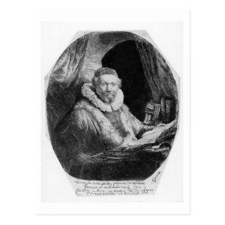 Carte Postale Portrait T29953 de janv. Uytenbogaert, prédicateur